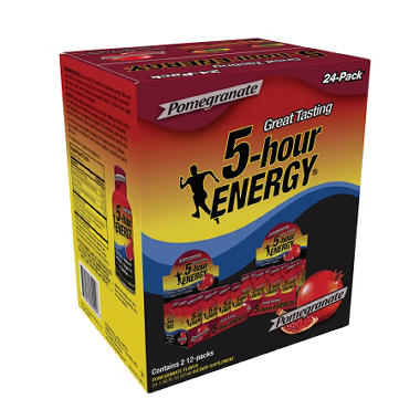 5-Hour Energy - Pomegranate - 1.93 oz. - 24 pk.