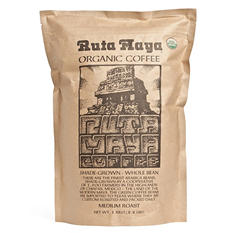 Ruta Maya Organic Medium Roast Coffee, Whole Bean (2.2 lbs)