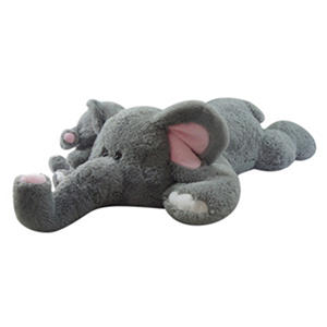 Jumbo Plush Animal - Elephant