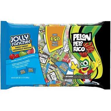 Jolly Rancher Pelon Pelo Rico Hard Candies - 150 pcs.