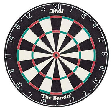 "Bristle Dart Board - ""The Bandit"""