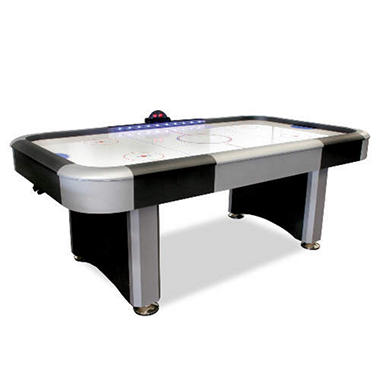 7' Table Hockey w/ Lighted Rails