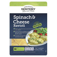 Monterey Gourmet Foods Fresh Spinach & Cheese Ravioli (32 oz.)