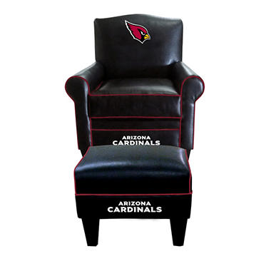 Game Time Chair & Ottoman - Various NFL Teams
