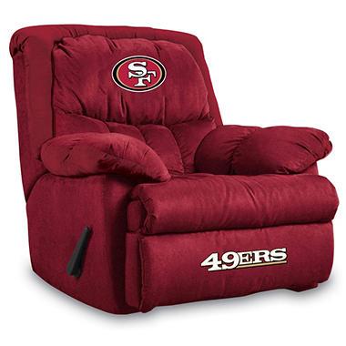 HOME TEAM RECLINER SAN FRANCISCO 49ERS