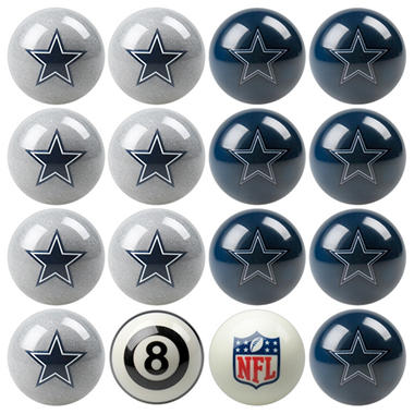 NFL Team Home vs Away Billiard Ball Set - Choose Your Favorite Team
