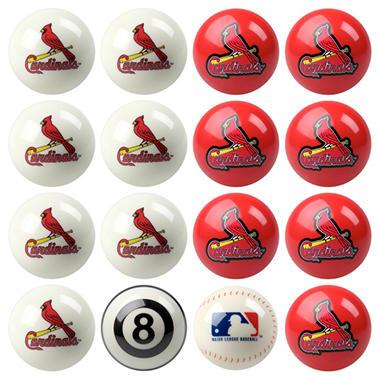 Licensed Major League Baseball Billiard Ball Sets