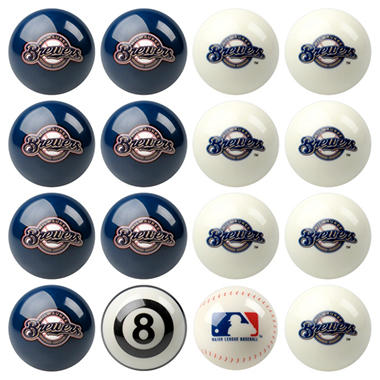 Licensed Major League Baseball Billiard Ball Sets