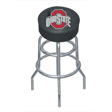 College Logo Bar Stool - Ohio State