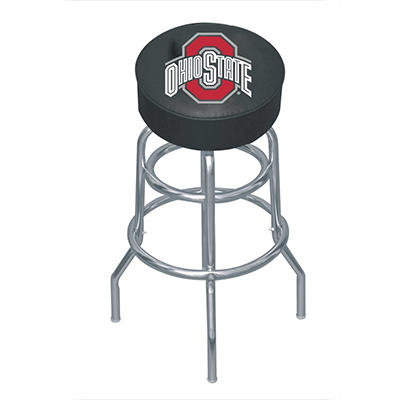 College Logo Bar Stool - Ohio State
