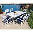 Spring Harbor Outdoor Patio Dining Set 7 pc.