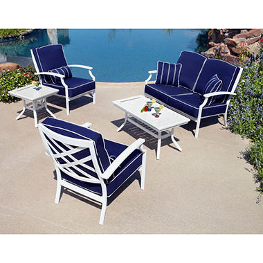 Spring Harbor Outdoor Patio Deep Seating 5 pc.  Original Price $999.00  Save $426.00