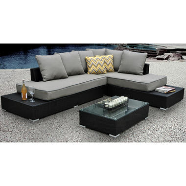 Soho Sectional with Premium Sunbrella® Fabric
