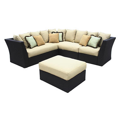 Lane® Luxor Wicker Sectional Outdoor Patio Furniture
