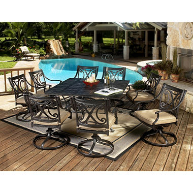 Barcelona Patio Dining Set - 10 pc.