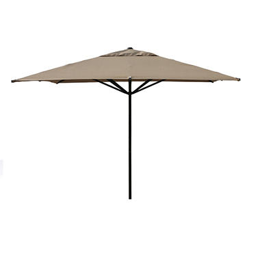 Barcelona 11' Square Market Umbrella - Single Vent