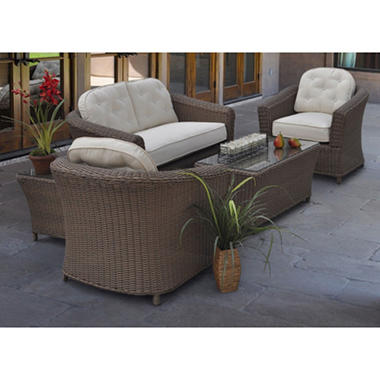 Capela Deep Seating Patio Set - 5 pc.