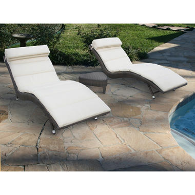 Oasis Chaise Set - 3 pc.
