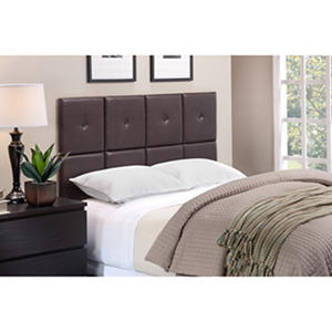 Tessa Faux Leather Upholstered Headboard Tiles (Assorted Colors and Sizes)