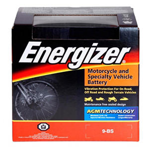 Energizer AGM PowerSport Battery - Group Size 9BS