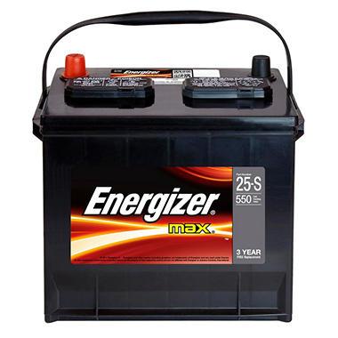 Energizer Automotive Battery - Group Size 25 - Sam's Club