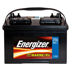 Energizer Deep Cycle Marine Battery - Group Size 27DC