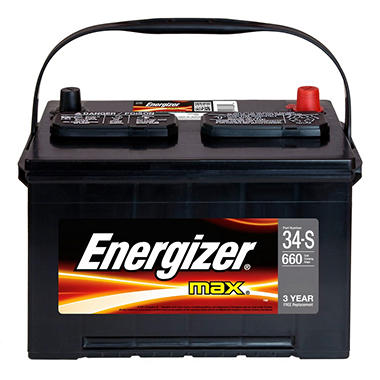 Energizer Automotive Battery - Group Size 34