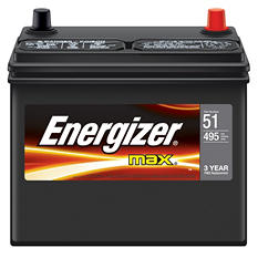 Energizer Automotive Battery - Group Size 51