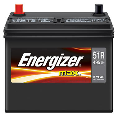 Energizer Automotive Battery - Group Size 51R