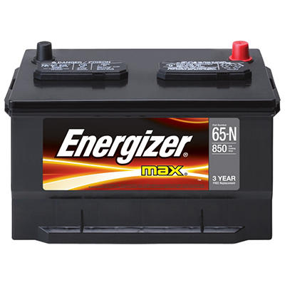 Energizer - 12 volt Automotive Battery Group Size E65-N