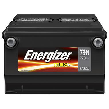 Energizer Automotive Battery - Group Size 78