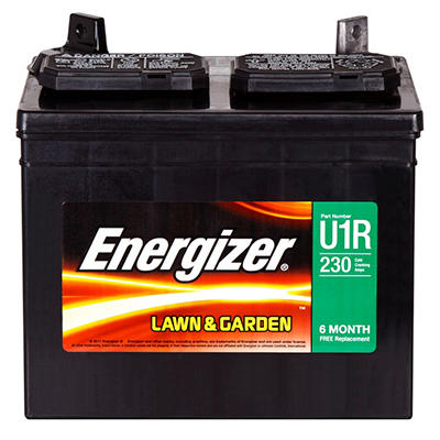 Energizer Lawn & Garden Battery - Group Size U1R