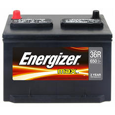 Energizer 12 volt Automotive Battery - Group Size 36R