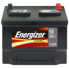 Energizer 12 volt Automotive Battery - Group Size 59
