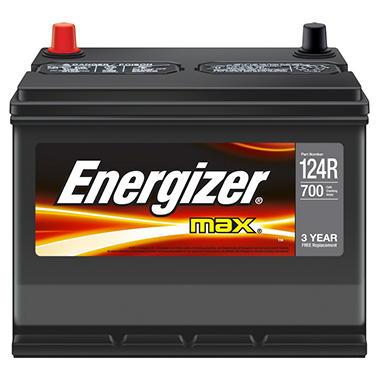 Energizer 12 volt Automotive Battery - Group Size 124R