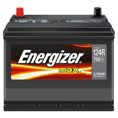 Energizer 12 volt Automotive Battery - Group Size 124R