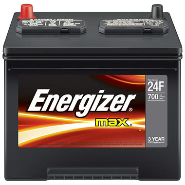 Energizer 12 volt Automotive Battery - Group Size 24F