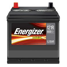Energizer 12 volt Automotive Battery - Group Size 121R