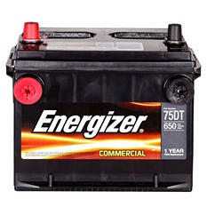 Energizer - 12 volt Automotive Battery Group Size 75DT