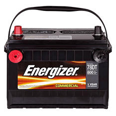 Energizer - 12 volt Automotive Battery Group Size 78DT