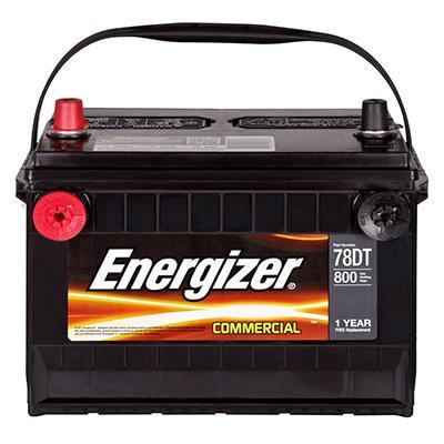 Energizer - 12 volt Automotive Battery Group Size 78DT