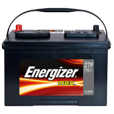 Energizer 12 volt Automotive Battery - Group Size 27F