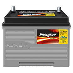 Energizer AGM Automotive Battery - Group Size 24F