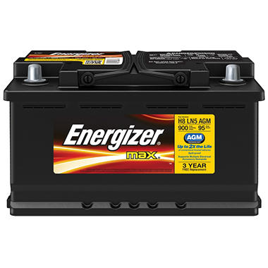 Energizer AGM Automotive Battery - Group Size H8 LN5