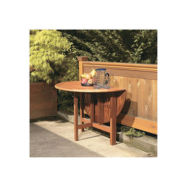 Celebration Drop-Leaf Round Table