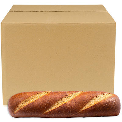 "Fresh Baked 12"" Wheat Hoagie Rolls (Case Sell Only)"