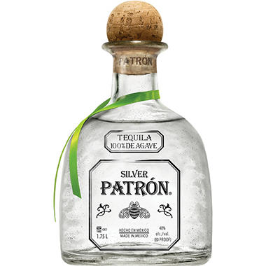 +PATRON SILVER TEQUILA 1.75 LITER