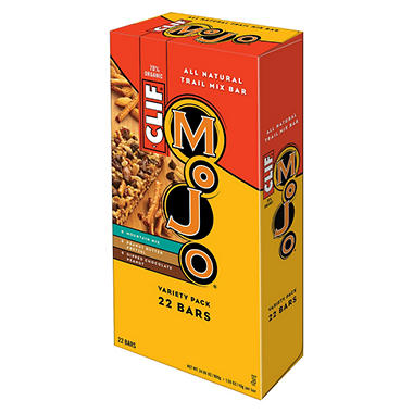 CLIF Mojo™ Sweet & Salty Trail Mix 3 Flavor Variety Pack - 22 ct.