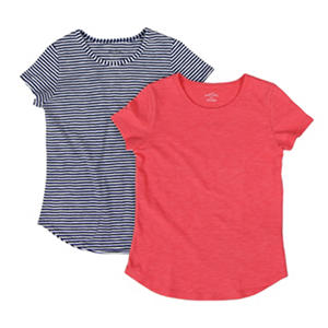 Eddie Bauer Girls' 2-Pack Tees