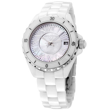 Swiss Legend Women's Karamica White High Tech Ceramic Watch